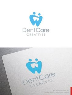 Awesome Logo Design Template you can use this logo for any business. This design has EXTENDED LICENSE, so you can use them for anything you want. Dental Logo, Dental Art, Best Logo Design, Branding Design, Clinic Design, Logo Design Template, Dentistry, Logo Inspiration, Templates