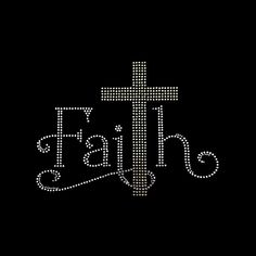 Faith, Faith Cross Faith Rhinestone Bling on Black T-Shirt Contact for shirt color change Rhinestone Crafts, Rhinestone Shirts, Bling Shirts, Rhinestone Transfers, Christian Shirts, Christian Quotes, Faith Quotes, Bible Quotes, A Course In Miracles