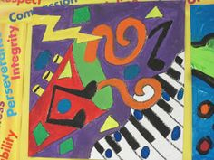 Lines, Dots, and Doodles: Musical Art, 5th Grade