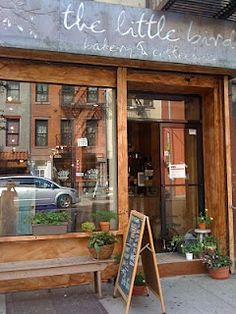 The Little Bird Bakery & Coffeehouse on Avenue B in the East Village