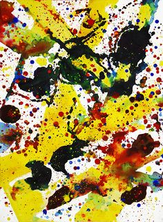 Sam Francis  Untitled (SF73-025) by Jonathan Novak Contemporary Art, via Flickr
