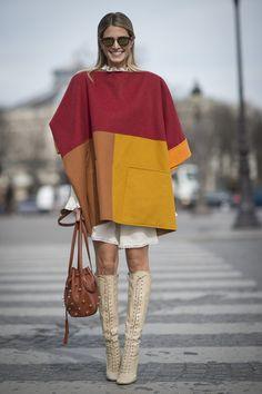 Street Style bei der Paris Fashion Week