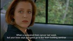 Dana Scully, Say You, Team Building, Cancer, Cinema, Sayings, Movies, Lyrics, Movie Theater