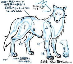 自己流狼の描き方 [1]