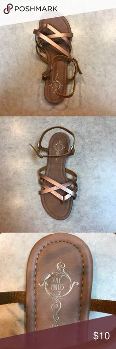 Sole Mates Rose Gold Amputee Single Sandal M 7/8 Single Sandal NWOT Rose Gold Style: BOBO Casual flat strappy Sole Mates Shoes Sandals