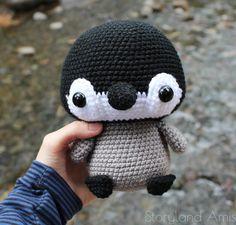 Amigurumi penguin #crochet