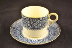 Antique Royal Worcester Cups Saucers Set of Six 6 1880 ND 3030   eBay
