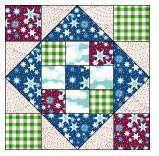 Free Quilt Block Patterns | Quilting - Free Quilt Block Patterns - Comforts of Home Quilt Block ...