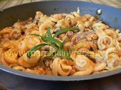 Těstoviny s hlívou ústřičnou Gnocchi, Vegetable Recipes, Vegan, Chicken, Vegetables, Cooking, Ethnic Recipes, Kebabs, Diet