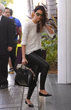 Just Can t Get Enough  Lily Aldridge and Her Givenchy Antigona Bag b26affe0b0ac7