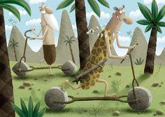 Devian Art, Art Journaling, Childrens Books, Illustrators, Fairy Tales, Concept Art, Portugal, Dinosaur Stuffed Animal, Mixed Media