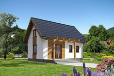 Small Cottage Homes, Apartment Layout, Small House Plans, Tiny House, Gazebo, Shed, Exterior, Outdoor Structures, Cabin