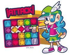 ¡Attack! #TetrisAttack #Tetris #Nintendo #snes #retro #puzzle