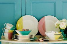 Dip dye plates