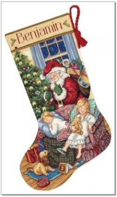 Cross Stitch Stocking Kits ~ Find The Best Cross Stitch Stocking Kits