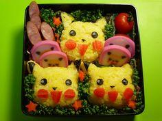 How to Make a Bento (#11 Pikachu Pokemon rice ball) ポケモン弁当