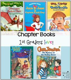 Chapter Books 1st Graders Love, first grade, chapter books, literacy, reading, read aloud