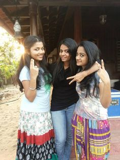 Namitha Pramod With her Friends