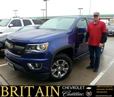 https://flic.kr/p/AcBpmz | Congratulations Jeff on your #Chevrolet #Colorado from Mike Donahoe at Britain Chevrolet Cadillac! | deliverymaxx.com/DealerReviews.aspx?DealerCode=I827