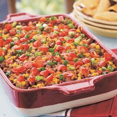 Nacho Grande Casserole.  This looks soooo good.