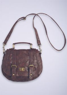I just purchased a vintage style crossbody for fall, and now I'm having some regrets...