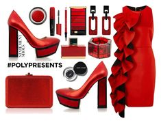 """#PolyPresents: Statement Shoes"" by marionmeyer on Polyvore featuring Mode, Kat Maconie, River Island, Leiber, Jackie Brazil, L'Oréal Paris, Fendi, Shiseido, John Lewis und Bobbi Brown Cosmetics"