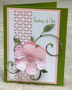 Velum Flower card