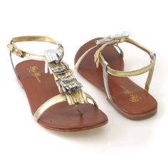 silver and gold sandals - Buscar con Google