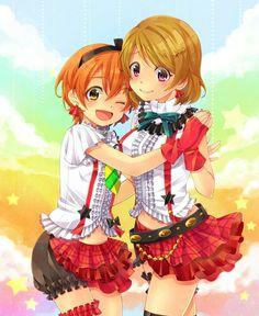 Love Live! School idol project, Hoshizora Rin, Koizumi Hanayo