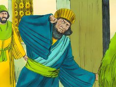 Chapter 7: Haman was summoned to attend the banquet Queen Esther had prepared for him and the King. – Slide 1