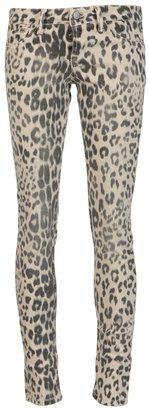 ShopStyle: Sold Leopard skinny jean