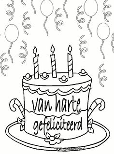 Knutselopdrachten.nl | Kleurplaten Free Prints, Doodles, School, Aaliyah, Stage, Quote, Weddings, Birthday, Color