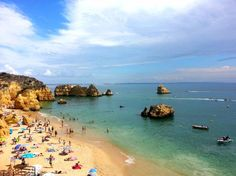 Dona Ana beach and Falesia beach, in the Algarve, Portugal are 2 of Best Beaches in Europe 2015 - Travelers' Choice Beaches Awards 2015 - via TripAdvisor 18.02.2015 | Photo: Praia Dona Ana