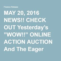 "MAY 20, 2016 NEWS!! CHECK OUT Yesterday's ""WOW!!"" ONLINE ACTION AUCTION And The Eager Zebra Games!WINS!!  May 16, 2016 EAGER ZEBRA GAMES, Online Auctions, ONLINE GAMES,  PRICEBENDER'S PENNY AUCTIONS!!, TripleClicks ""OUR"" Mega Online  Department Store""TripleClicks"" YOUR Store and My Store!, Eager Zebra Games, News/Today's Deal, PRICEBENDERS AUCTIONS PRESENTED BY SHERON FENTY – FINANCE RELEASE GREAT PRESENTATION ON NEWS CHECKOUT YESTERDAY WOW FOR ALL YOUR SUCCESS ALWAYS."