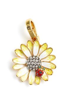 Juicy Couture daisy charm