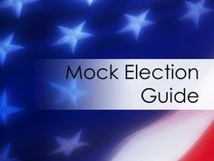 This comprehensive guide will set up your mock election for you!With step by step instructions to guide you through every step of the process.  Major sections include:Candidate research paperPreparing to register votersStudent presentations while registeringHow to facilitate registrationPreparing candidate speechesCandidate Cheat SheetWrap Up activitiesSetting up election dayElection workers' dutiesPost Election Analysis ideasTEKSWhile this guide is tailored to Texas voting laws the material... Social Studies Activities, Teaching Resources, Teaching Ideas, Up Election, Student Presentation, Marketing, Stock Market, Teacher Pay Teachers