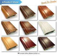Indoor Moistureproof WPC Vinyl Skirting Board