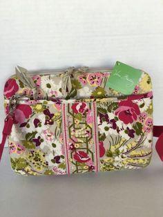 7e132d2d52d83 Vera Bradley Bag Mini Laptop Tablet Case Floral Designer Fashion Hip Chic  Gift