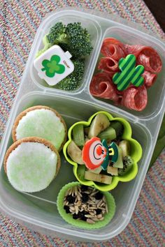 St. Patrick's Day Fun Themed Lunch for School