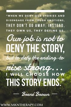 When We Tell Our Story, We Change The World | Blog post by Melissa K. Nicholson, LMSW www.mkntherapy.com