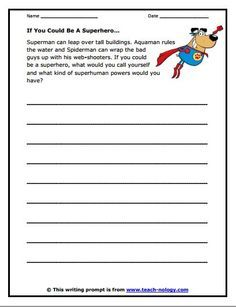 Free Writing Prompt Worksheets - writing prompt worksheets from the teacher's guide pizzantine