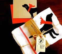 Labrador Tea Towel DONATION to ANIMAL RESCUE by BestInShore