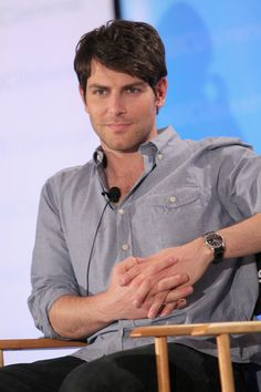 David Giuntoli from the show Grimm. Can't wait for the new season.