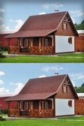 SENDOM.PL - Producent domów drewnianych Kiosk Design, Wooden Houses, Home Fashion, Cabin, Interior Design, House Styles, Ideas, Home Decor, Log Projects
