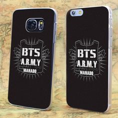 BTS ARMY Manado transparent clear hard case cover for iPhone Samsung #UnbrandedGeneric