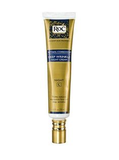 Anti-aging Treatment The wrinkle fighter all skin docs champion is retinol; the product they recommend is RoC Retinol Correxion Deep Wrinkle Night Cream. Best Anti Aging Creams, Anti Aging Tips, Anti Aging Skin Care, Vitamin A, Deep, Brown Spots On Face, Dark Spots, Cellulite Scrub, Anti Cellulite