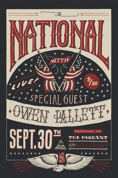 The National (Limited) Art Print  By Jon Contino