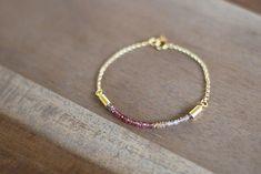 Ombre Gemstone Bracelet