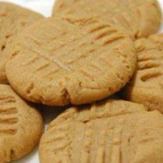 FOUR INGREDIENT, FLOURLESS PEANUT BUTTER COOKIES!