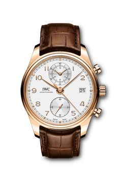 IWC LAUNCHES NEW EDITION OF THE PORTUGIESER CHRONOGRAPH CLASSIC - Core Sector Communique